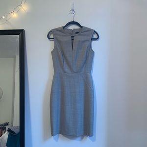 Gray J. Crew Work Dress